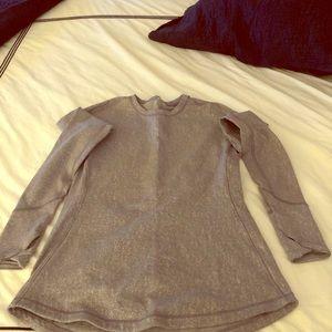 Lululemon running long sleeve t-shirt (size 4)